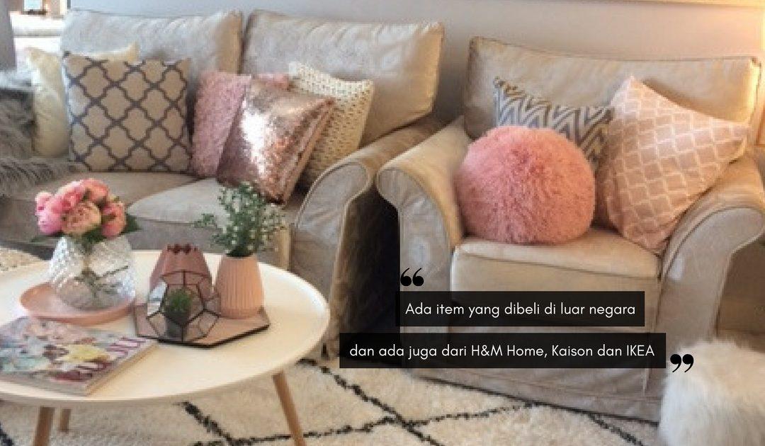 Dekorasi Rona Pastel & Putih, Serlah Keindahan Apartmen Milik Personal Shopper Ini