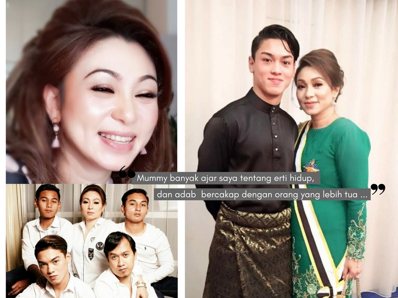Apabila Anak Memuja Kecantikan & Personaliti Ibu Tersayang. Rahsia Dato' Marina Kekal Cantik Meniti Usia 40an!