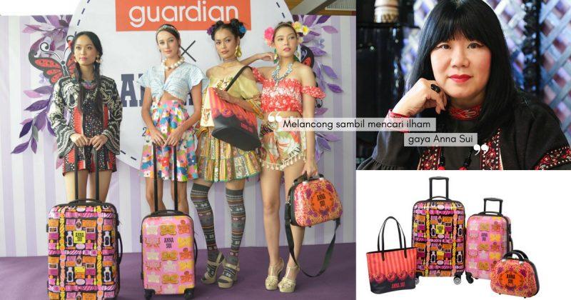 Beg Kembara Rekaan ANNA SUI, Koleksi Beg Eksklusif Untuk Pelanggan Guardian Malaysia