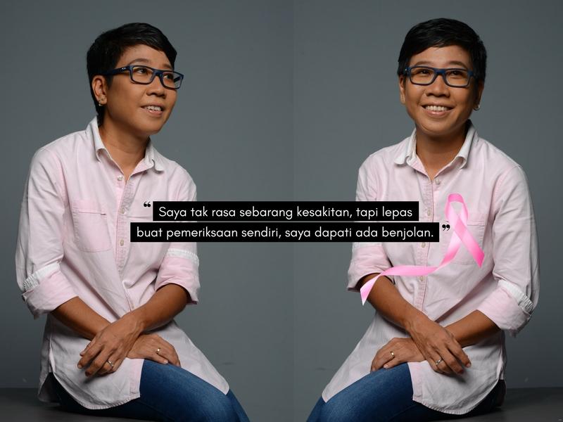 Tindakan Pantas Lina Tan Tentang KANSER PAYUDARA Memberinya Peluang Kedua. Ini Perkongsian Berguna Buat Para Wanita!