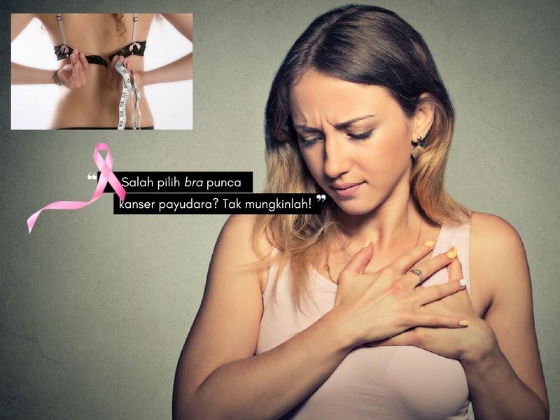 Kaitan Pemakaian Bra Yang Salah & Kanser Payudara, Ini Yang Harus Anda Tahu! Jangan Terus Berteka-Teki