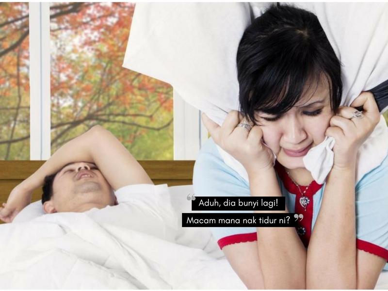 Aduh, Stresnya Bila Pasangan Tidur BERDENGKUR! Tak Lena Dibuatnya