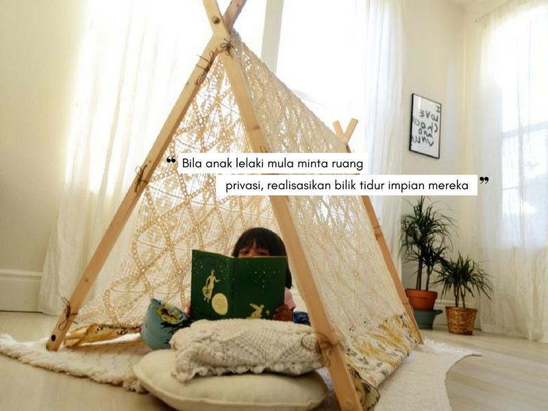'Mak, Saya Mahu Bilik Tidur Sendiri', 7 Ilham Dekorasi Terbaik Buat Anak Lelaki Anda!