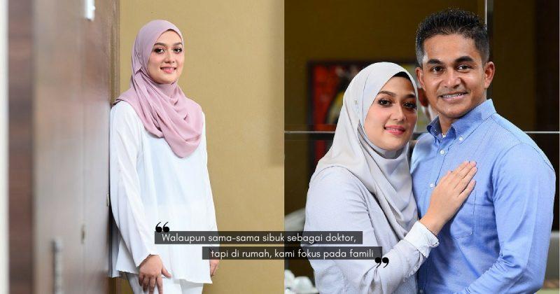 Bagaimana Kehidupan Di Rumah Bagi Pasangan SUAMI ISTERI DOKTOR? Dr. Hafizah & Dr. Fahmi Ini Kongsi Formulanya