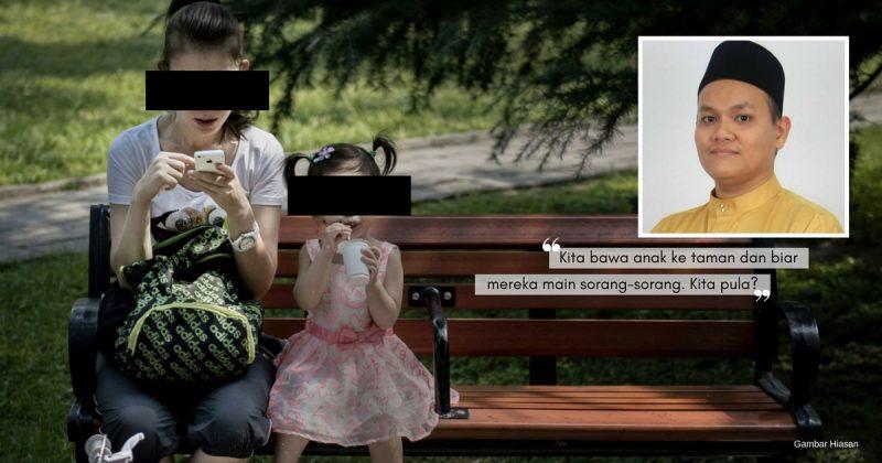 """""""Happy Bawa Anak Main Di Taman."""" POST. Tunggu Komen. Oh, Sikap Ibu Bapa Sekarang Makin Pelik!"""