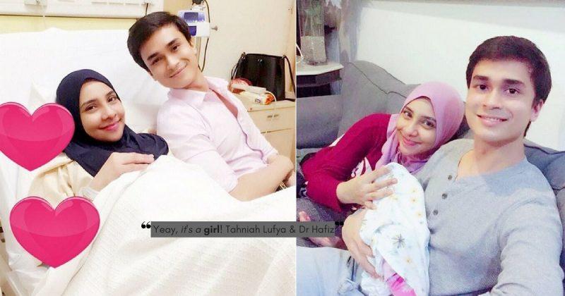 Nikmat Bila Suami Teman Isteri Bersalin, LUFYA Bersyukur DR HAFIZ Jadi Saksi Kelahiran Anak Mereka!