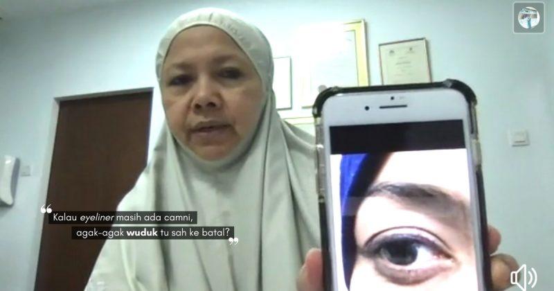 Sah Ke Wuduk, Kalau Mekap Masih Ada? Ini Jawapan Datuk Prof Dr. Muhaya Yang Muslimah Mesti Tahu