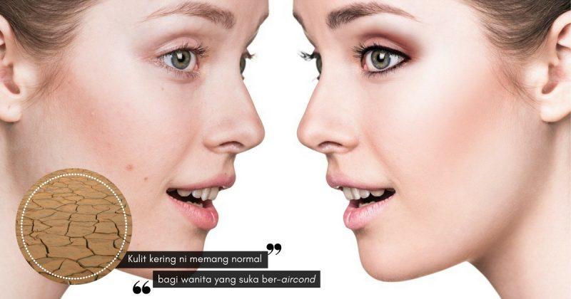 4 Tip Semula Jadi Untuk Atasi Kulit Kering, Jimat KRIM PELEMBAP Muka Anda!