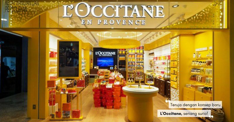 3 Sebab Anda MESTI PERGI Concept Store L'Occitane Yang Baru Dibuka Ini!