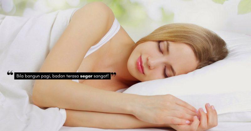 TIDUR Berkualiti Janjikan Kehidupan Lebih Indah & Kerjaya Yang Cemerlang! Pupuk 4 Cara Ini Agar Mudah Tidur Lena