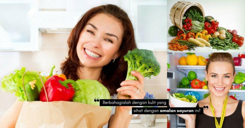 Biar Cantik Secara SIHAT, Bukan Kerana Bahan Kimia! Amalkan Diet 6 SAYURAN Ini Untuk Kulit Sihat & Awet Muda
