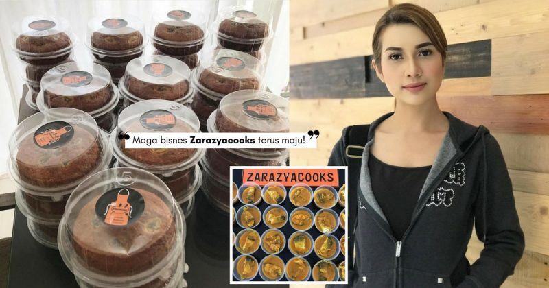 Bakat Terpendam ZARA ZYA, Kini Miliki Bisnes Makanan Online ZARAZYACOOKS!