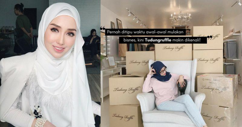 Dari Modal RM50 Ke Jualan 7 Angka, TUDUNGRUFFLE Lonjakkan Nama HANIS ARIF!