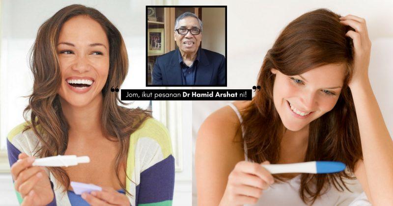 Mahu Hamil, Isteri Perlu Ubah TABIAT! Dr Hamid Arshat Pesan Amalkan 6 Gaya Hidup Ini
