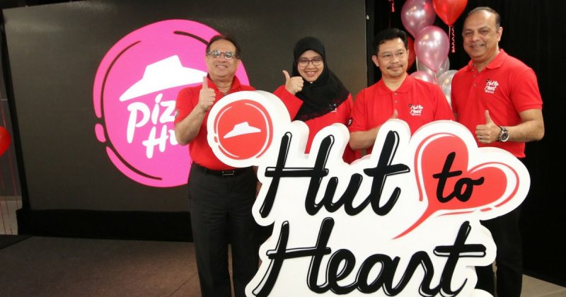 Makan Pizza & Selamatkan Nyawa, Kini Pizza Hut Lancar Program 'HUT TO HEART'