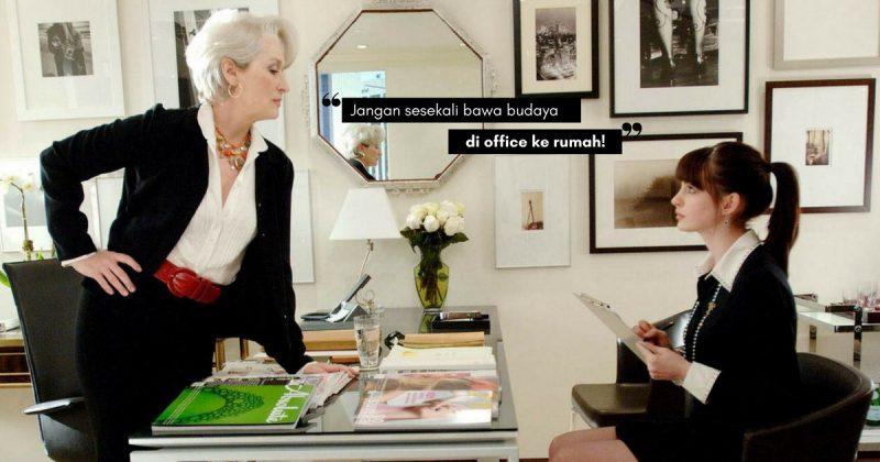 Di Pejabat Andalah KETUA, Tapi Di Rumah Anda Adalah Seorang ISTERI! Ingat Tu