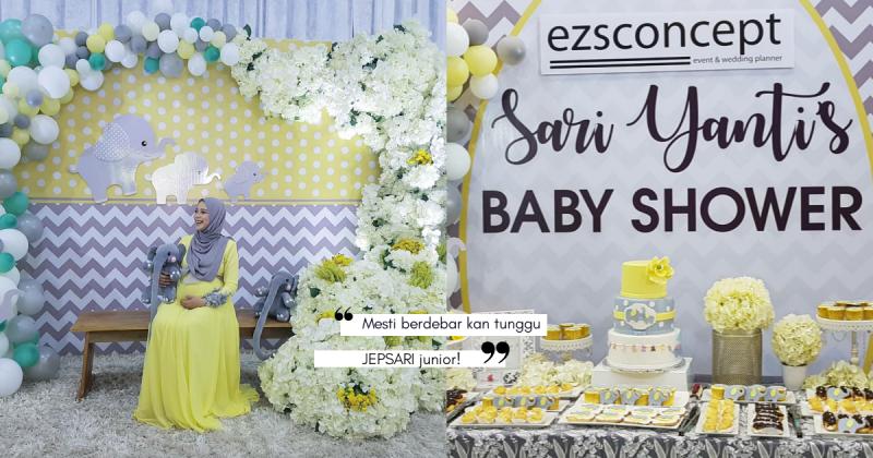 Majlis Baby Shower SARI YANTI Terlajak Comel, Ramai Tak Sabar Menanti JEPSARI Junior!