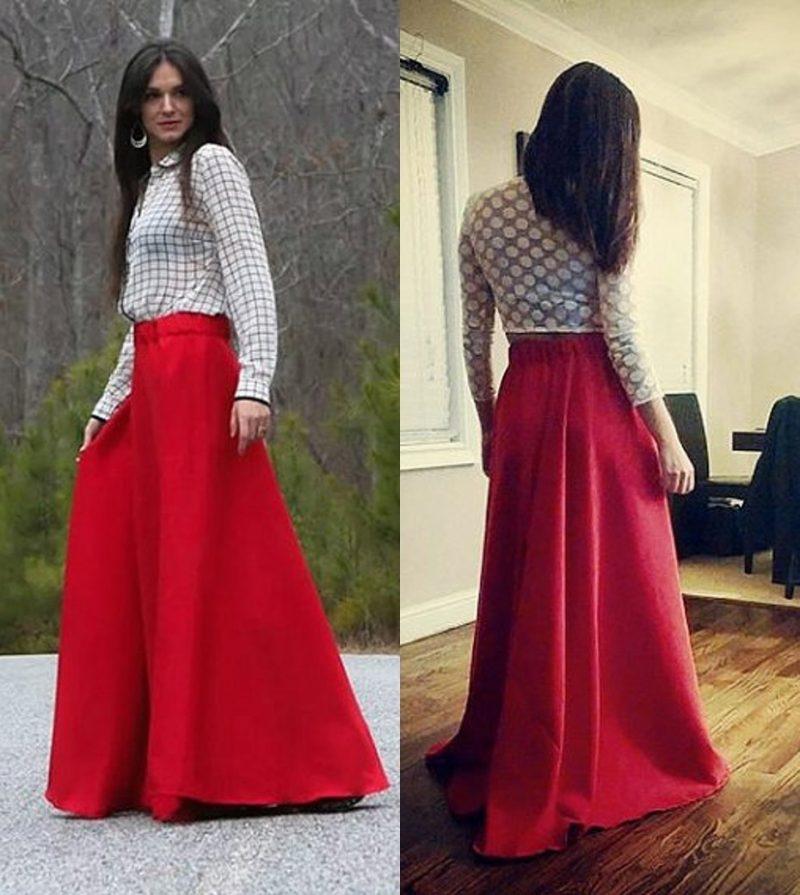 Boleh Saja Nak Pakai Skirt Labuh Asal Sesuai  Dengan Fizikal Dan Personaliti