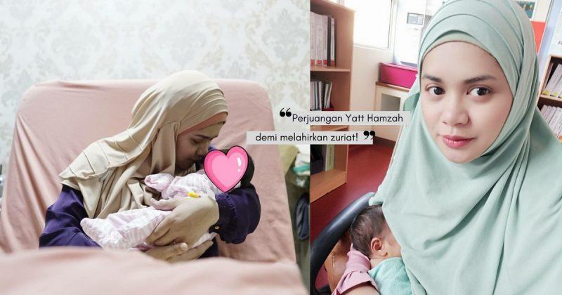 YATT HAMZAH Kongsi Video Kelahiran Puteri Ketiganya, Mahu Beri Inspirasi & Hargai Pengorbanan IBU BAPA!