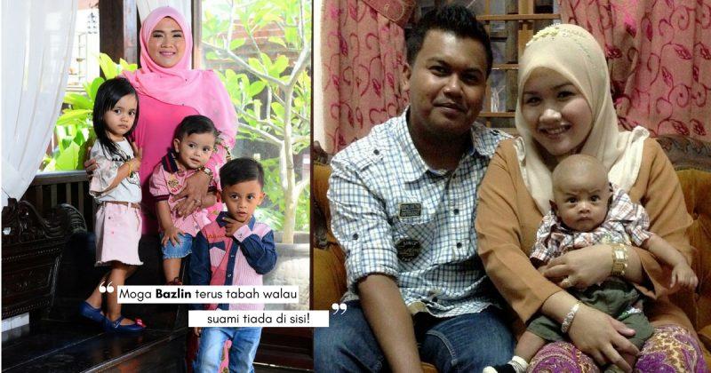 Tuhan 'Pinjamkan' Suami Hanya Lima Tahun, NOOR BAZLIN Luah Rasa Pilu Besarkan 3 Anak Kecil Sendirian!