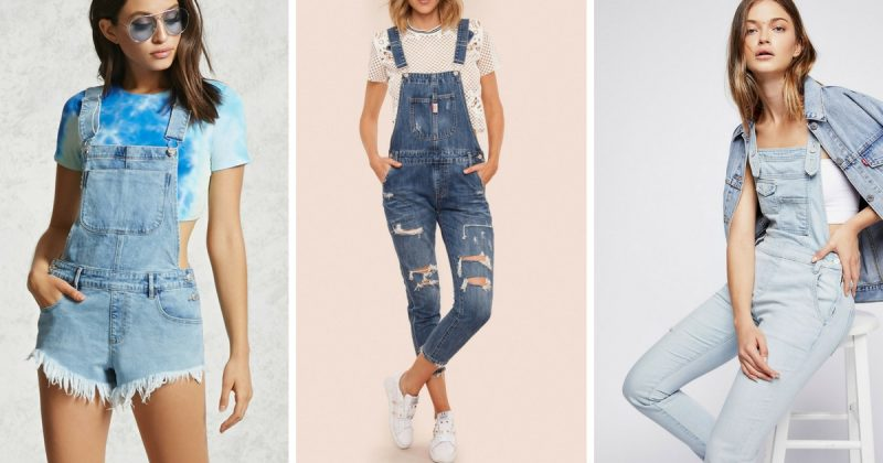 Trend Fesyen Kitar Semula, Stail OVERALL Kini Pilihan Fashionista Kota!