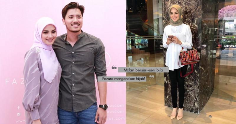 Cantiknya FAZURA Berhijab, Boleh Tiru Style Hijab Untuk Lebaran Nanti Ni!