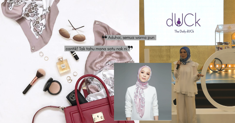 Tsunami dUCkscarves Kembali, 10 RIBU Edisi Terhad 'The Doily Duck' SOLD OUT Dalam Masa 3 Jam!