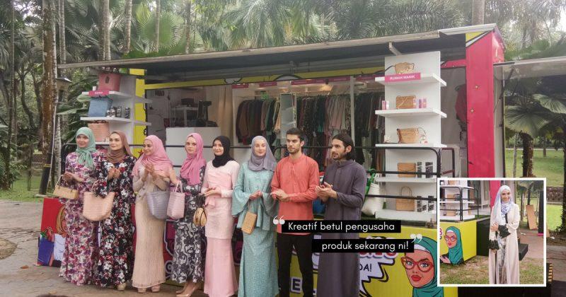 Dalam Trak Pun Boleh Shopping Tau! LENNY FARINA Perkenal Trak Fesyen Pertama Di Malaysia