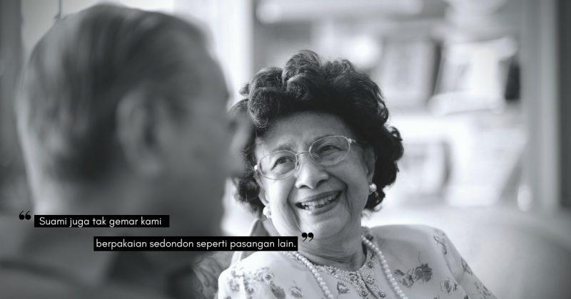 "Malu-malu sayang… Kata Tun Dr. Siti Hasmah, ""Dalam Motokar, Dia Pegang Tangan Saya. Pegangan Tangan Itu Akan Dileraikan Apabila Kami Melintasi Tol & Jari-Jemari Kembali Bertaut Selepas Itu"""
