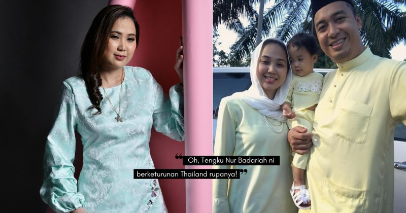 Nikmati Keunikan Lebaran Di Bangkok, YM TENGKU NUR BADARIAH Teruja Sambut Raya Di Samping Suami & Anak
