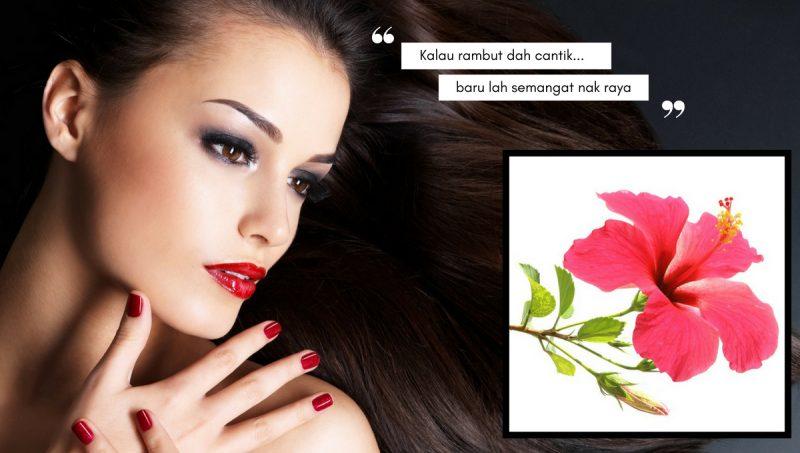 Masih Belum Terlambat Nak Cantikkan Rambut Menjelang Raya, Guna Bunga Raya Jer…