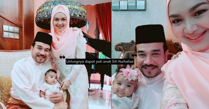 Senyuman 'Senget' SITI AAFIYAH Buat Syawal Datuk Seri Siti Nurhaliza Lebih Bermakna