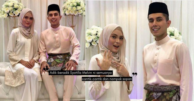 Tahniah, Adik SYATILLA MELVIN, Bertunang Dengan Anak Lelaki 'Iron Lady' Malaysia!