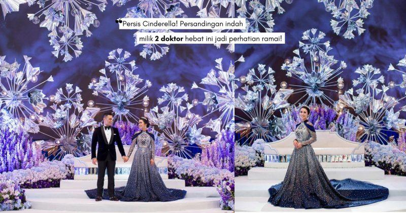 Angan-Angan Akhirnya Jadi Kenyataan, REKA TEEMOR Realisasi Dream Wedding DR FAZLIANA & DR FARID!