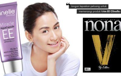 Sertai Peraduan #nonavip & Anda Mungkin Memenangi Produk Clinelle WhitenUp EE Cream Ini Yang Bernilai RM69.90