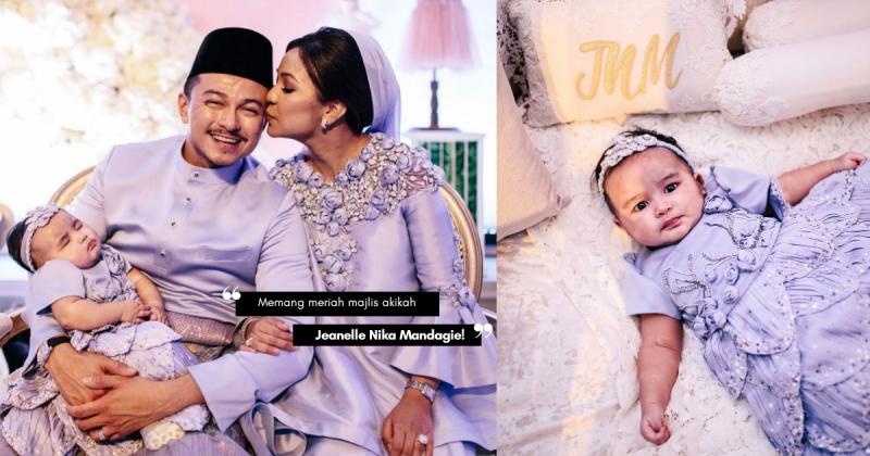 Meriahnya Majlis Akikah PRINCESS Dato' Jovian & Datin Nina, Macam Resepsi Perkahwinan! Cantik Sangat