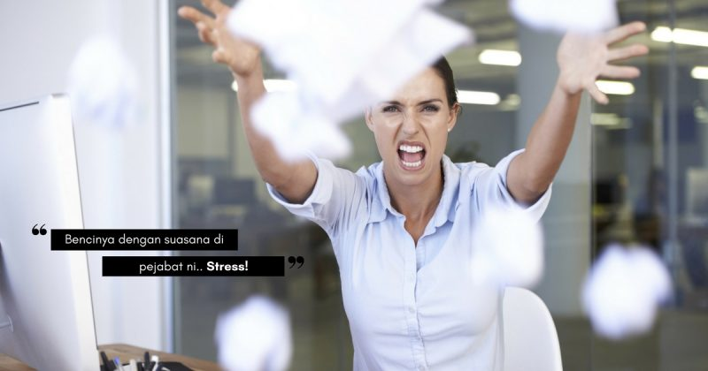 Disebabkan 5 Hal Ini, Kebanyakan Wanita Akui STRES Bila Berada Di Pejabat!