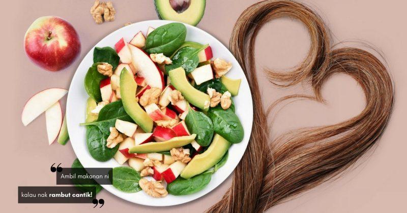 7 Makanan Untuk Rambut Cantik Mengurai, Gerenti Lebat & HITAM BERKILAT! Boleh Cuba Sekarang