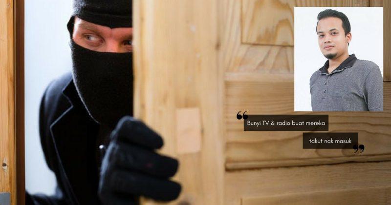 """""""Nak Tahu Tak Cara Perompak Pecah Masuk Rumah?"""" Sharing Pakar CCTV Ini WAJIB Kita Sebarkan!"""