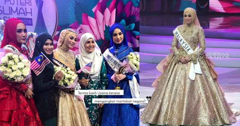 Terkedu Tengok Kepetahan UYAINA ARSHAD, Memang Patut Dia Dinobatkan Puteri Muslimah Asia 2018!