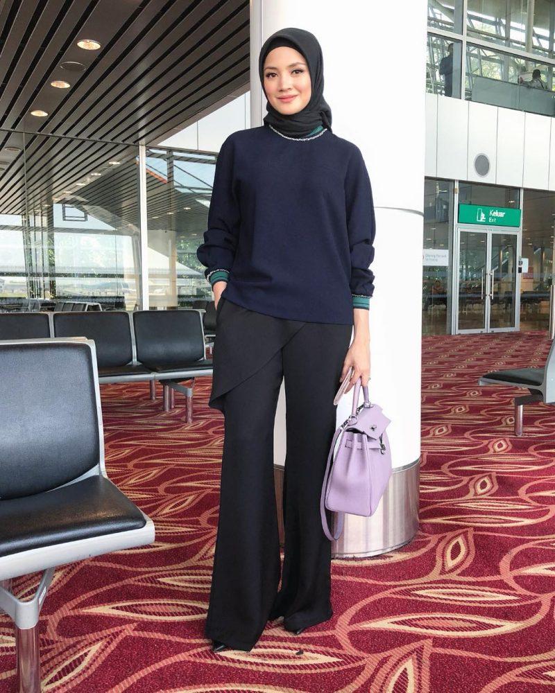 Cantiknya Fazura Berhijab Boleh Tiru Style Hijab Untuk Lebaran Ni Sesuai Mengenakan Apa Jua Rona Memandangkan Mempunyai Kulit Yang Cerah Lebih Menyerlah