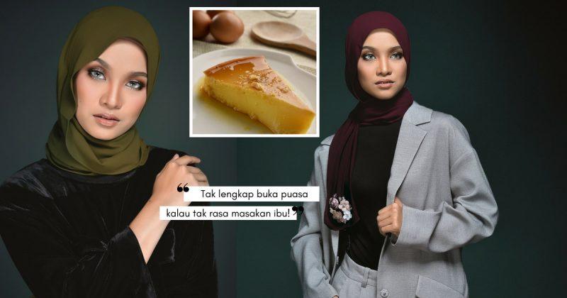 Dugaan Betul Tengok PUDING KARAMEL Bulan Puasa Ni, Patutlah Nabila Razali Pun Suka!