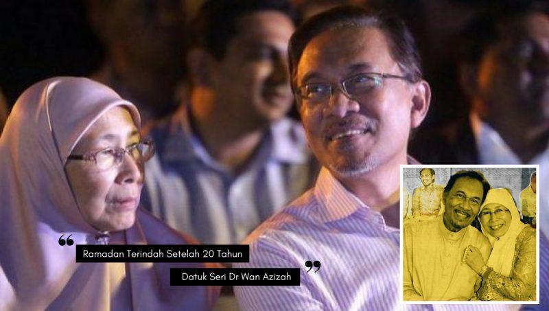 Syurga Ku Telah Kembali, Wajah Ceria Datuk Seri Dr. Wan Azizah Jelas Terpancar!
