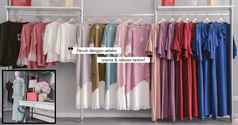 Banyaknya Pilihan Baju Raya Di TEMUJANJI BY SUZIE ERYANTY, Cantik-Cantik Pula Tu!