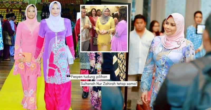 Pesona SULTANAH NUR ZAHIRAH, Tetap Menawan Dengan Fesyen Tudung 'Awning'!
