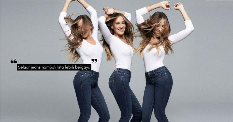 Jangan DERA Tubuh Badan Anda! Ini Tip Pilih Seluar Jeans Yang Sesuai