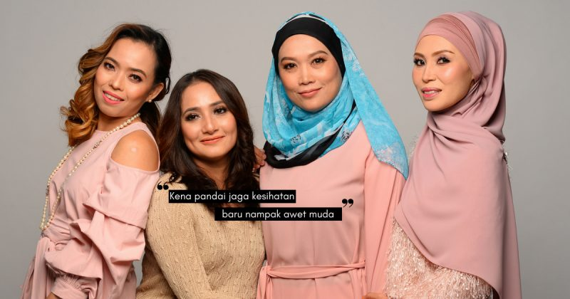 Oh, Ini Sebab 4 Wanita Ni Maintain Cantik & Bertenaga Je. Tak Nampak Macam Umur 40an Langsung!