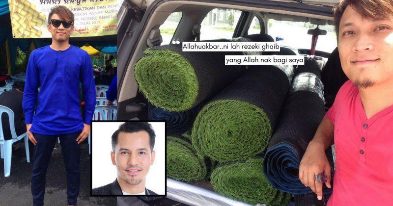 Rezeki Tak Putus Selagi Kejar Hal Akhirat, Lelaki Ini Kongsi Kejayaan Lepas Bertemu DATO' SRI ALIFF SYUKRI!