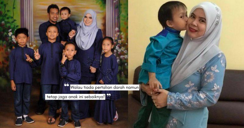 Jiwa Penyayang SHARIFAH AMINAH, Tekad Besarkan 5 Anak Walau Bukan Dari Darah Dagingnya!