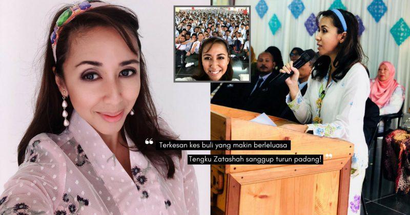 Prihatin Isu Buli, PUTERI DIRAJA SELANGOR Sanggup Turun Padang Bertemu Pelajar Sekolah!